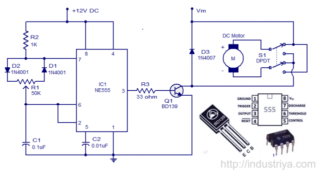 AC PWM based induction motor speed control using